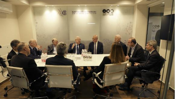 The President of Israel visited the BCDD