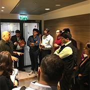 An innovation delegation from Western India visited the BCDD