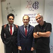 Argentina's ambassador to Israel visits BCDD