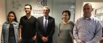 The Minister of Education Peretz Visited the BCDD