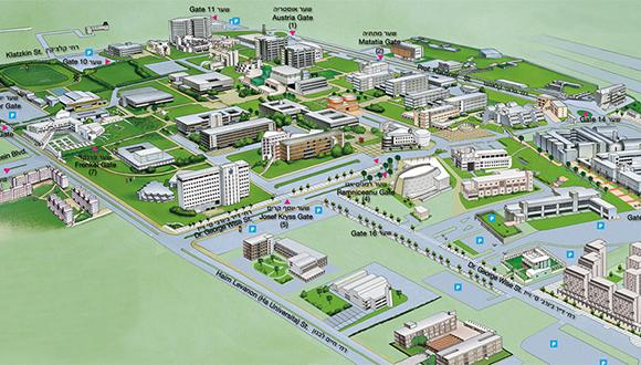 TAU Campus Map